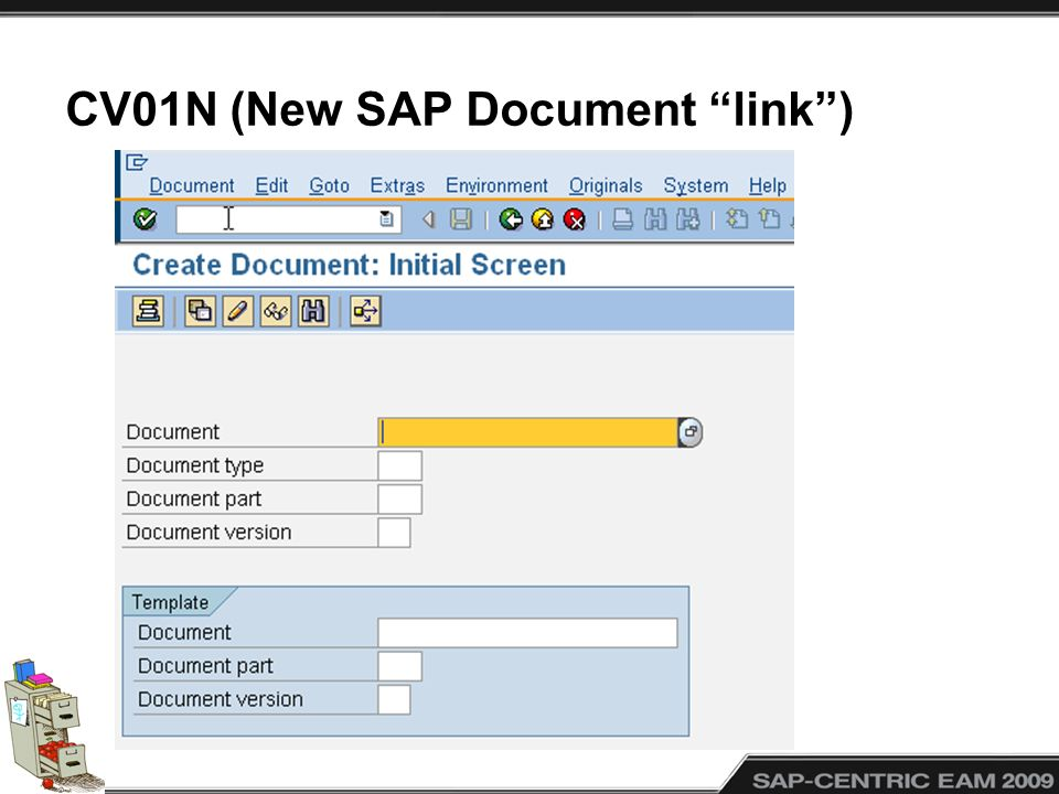 CV01N (New SAP Document link )