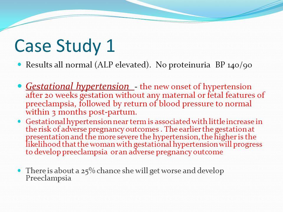 preeclampsia case study