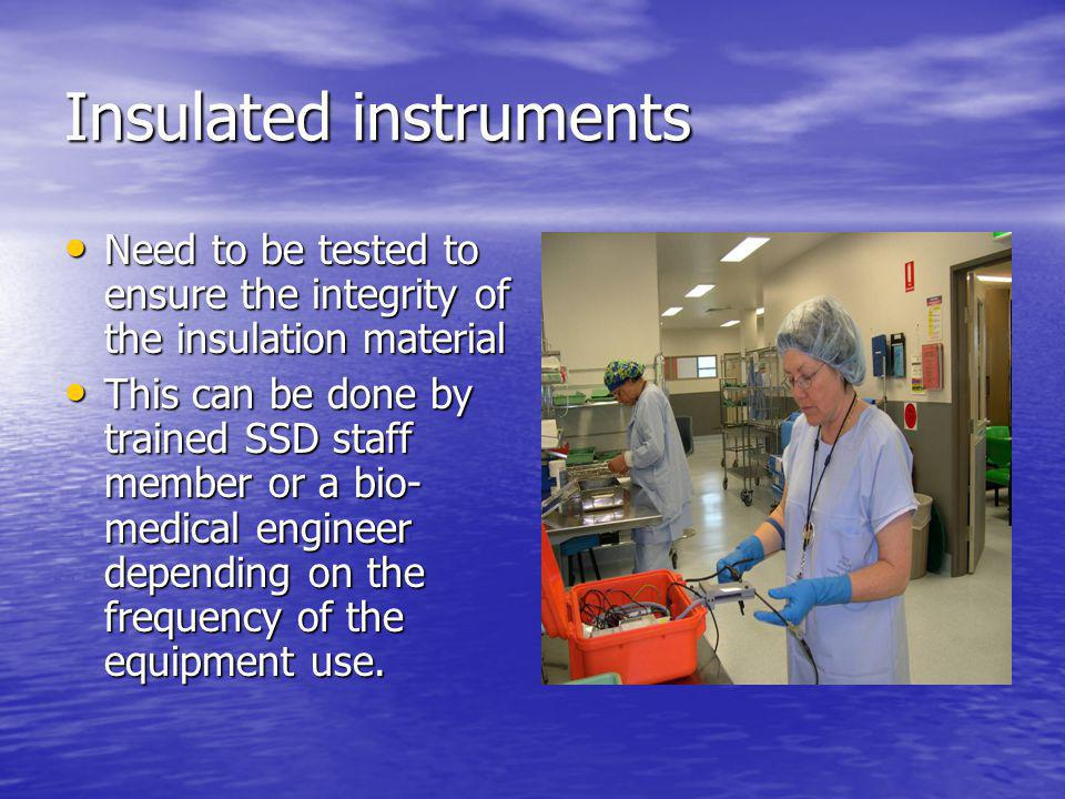 Insulated instruments