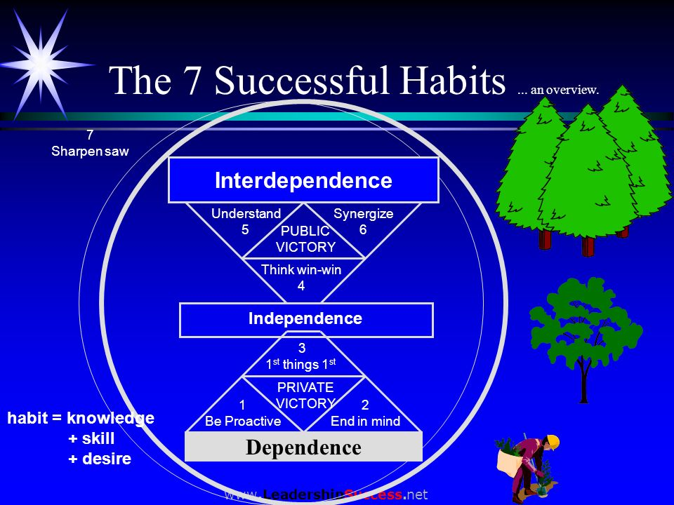 The 7 Successful Habits ... an overview.