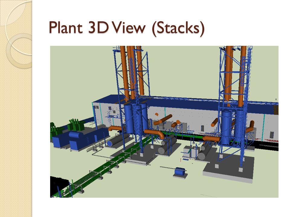 Plant 3D View (Stacks)