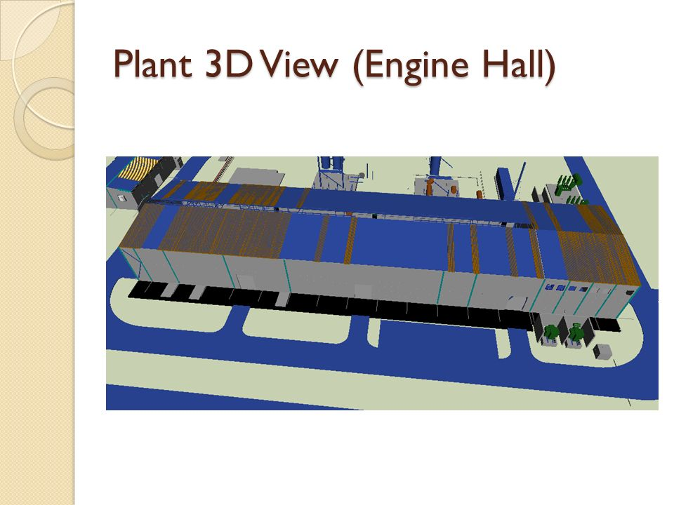 Plant 3D View (Engine Hall)