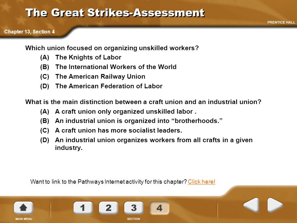 The Great Strikes-Assessment