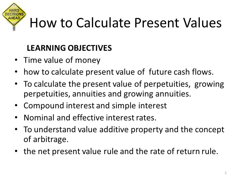 present value annuity perpetuity ppt download