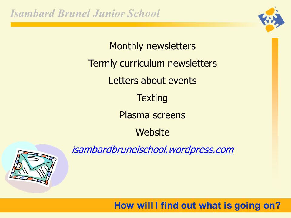 Termly curriculum newsletters