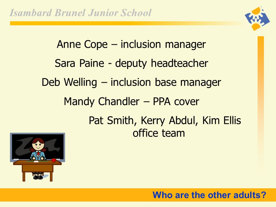 Anne Cope – inclusion manager Sara Paine - deputy headteacher
