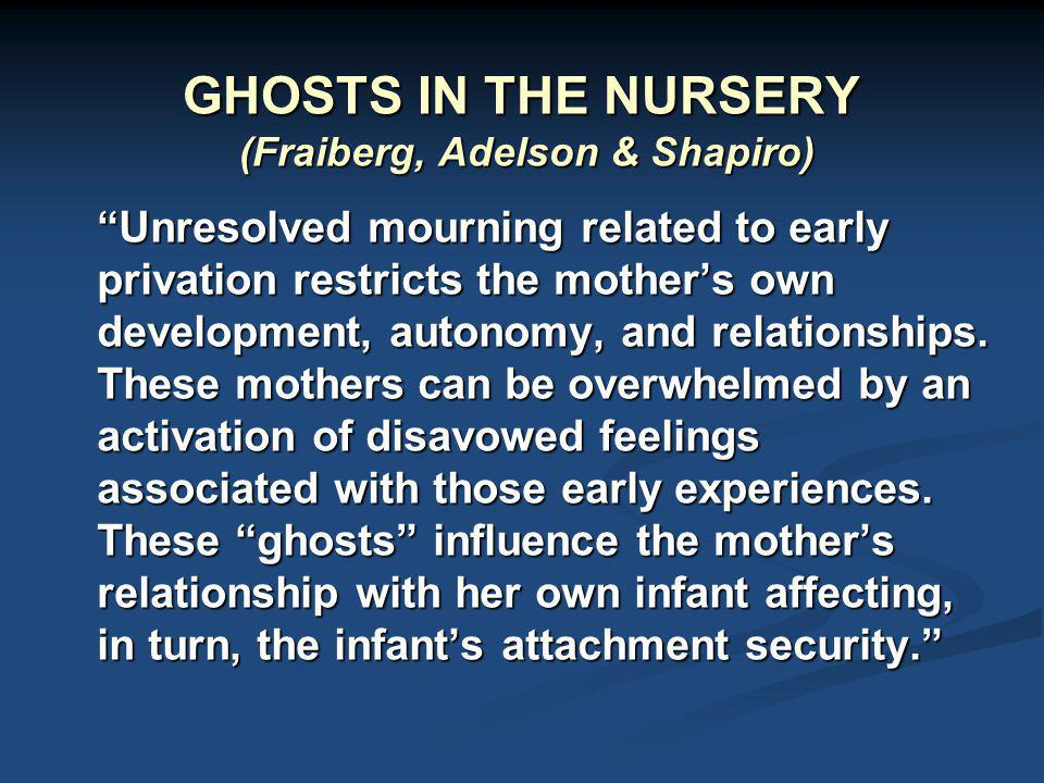 GHOSTS IN THE NURSERY (Fraiberg, Adelson & Shapiro)