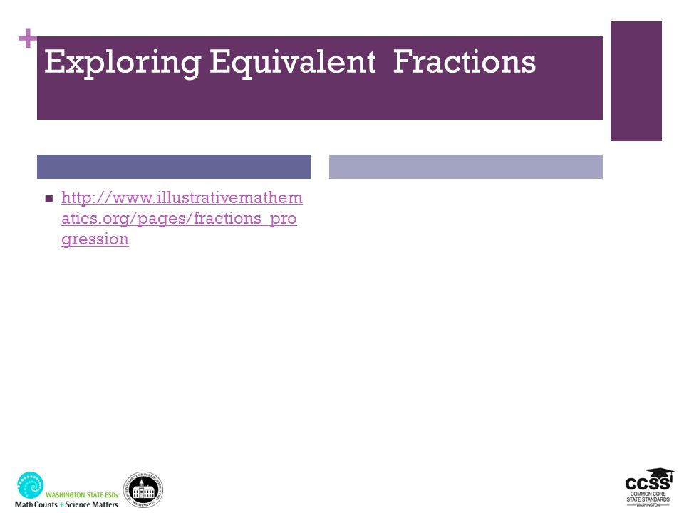 Exploring Equivalent Fractions