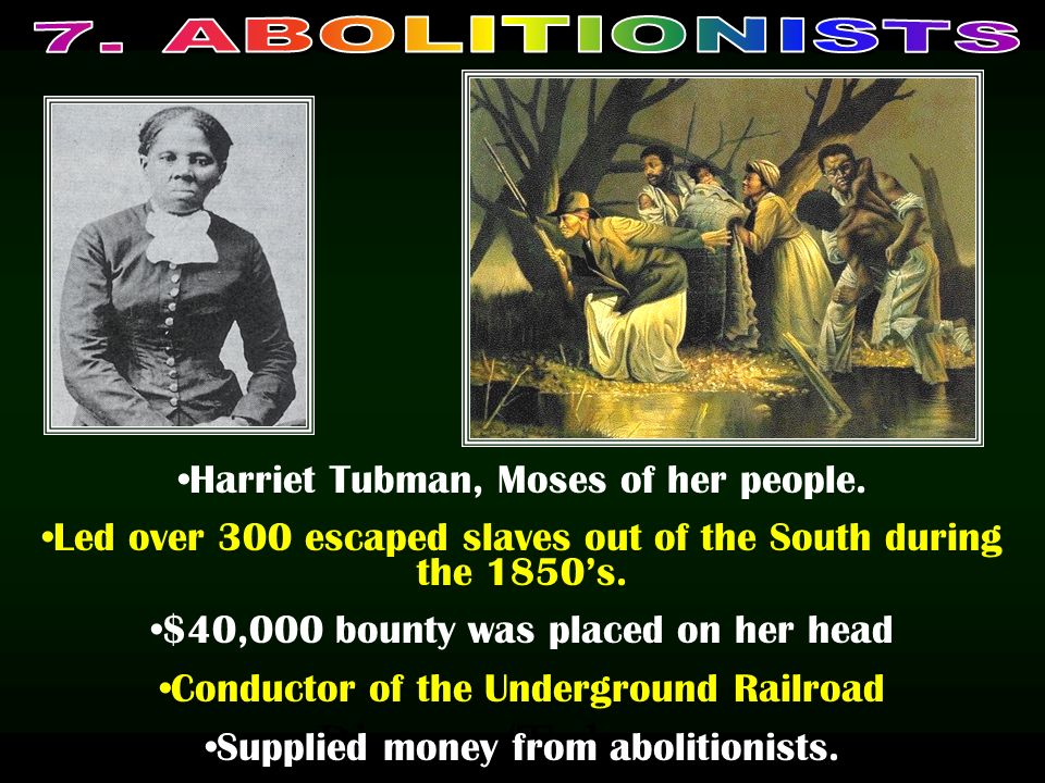 Picture/Tubman Harriet Tubman, Moses of her people.
