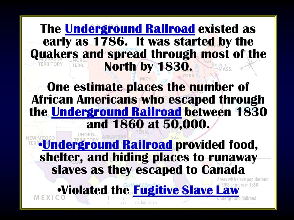 Violated the Fugitive Slave Law