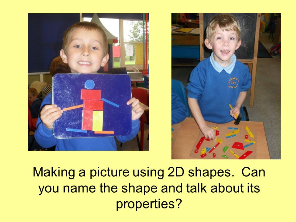 Making a picture using 2D shapes