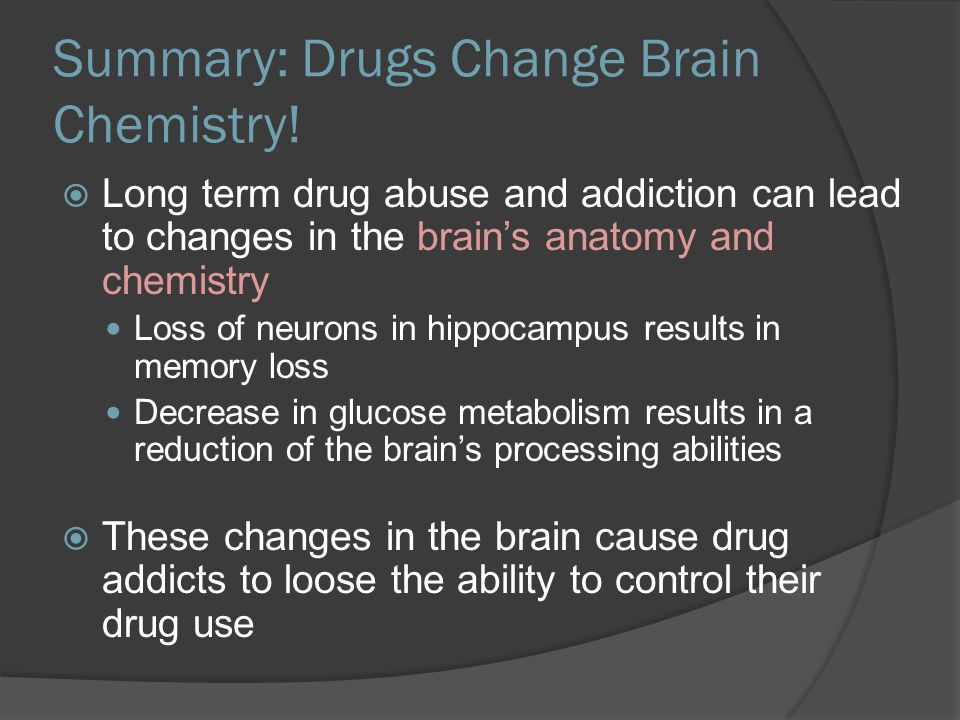 how to change brain chemistry naturally