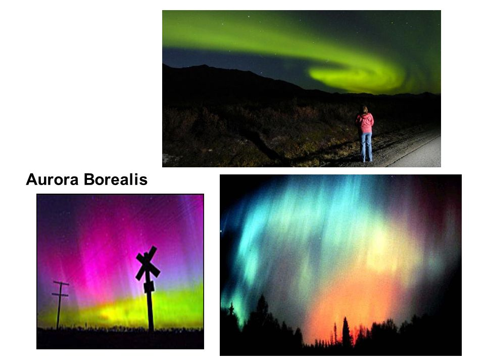Flame tests Aurora Borealis