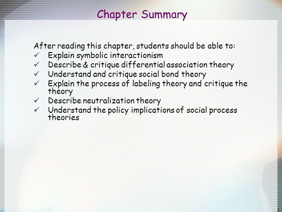 Chapter 5 Social Process Theories Ppt Video Online Download