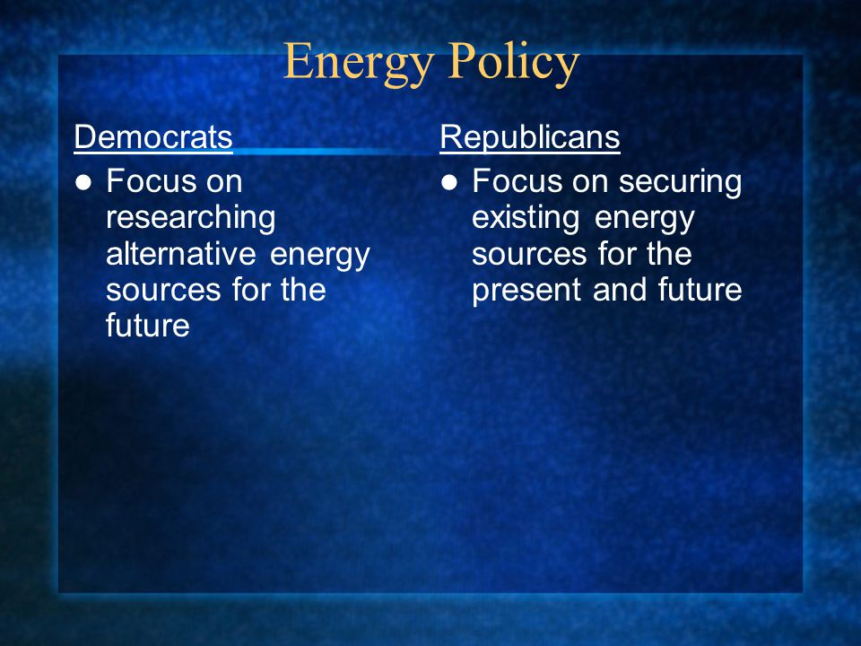 Energy Policy Democrats