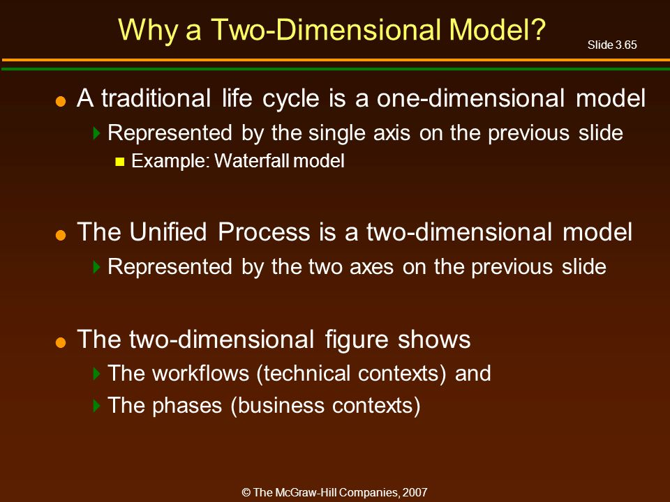 Why a Two-Dimensional Model