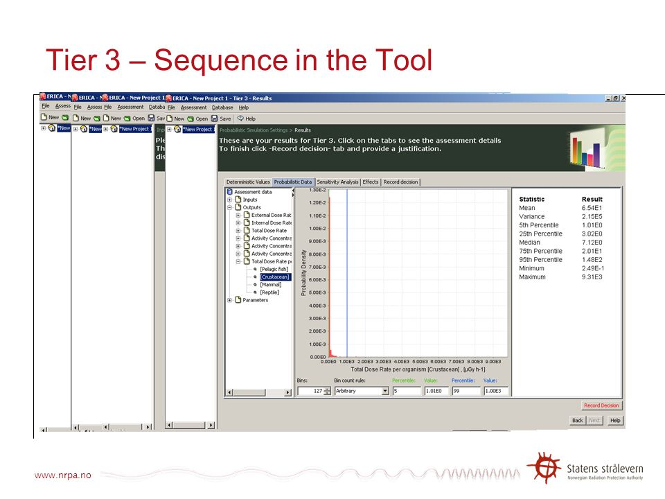 Tier 3 – Sequence in the Tool