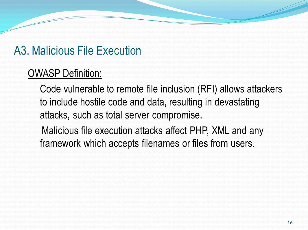 OWASP Top 10 Most Critical Web Application Security Vulnerabilities