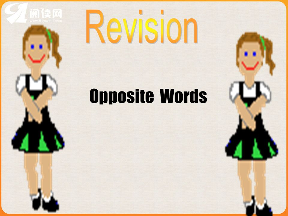 Revision Opposite Words