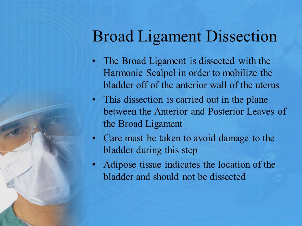 Broad Ligament Dissection