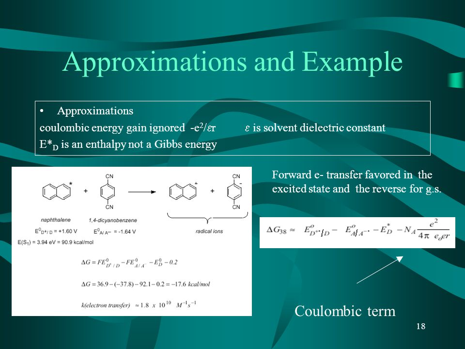 Approximations and Example