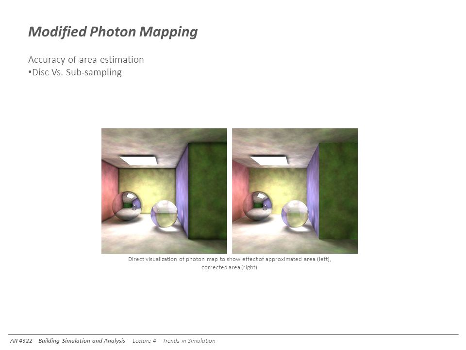 Modified Photon Mapping