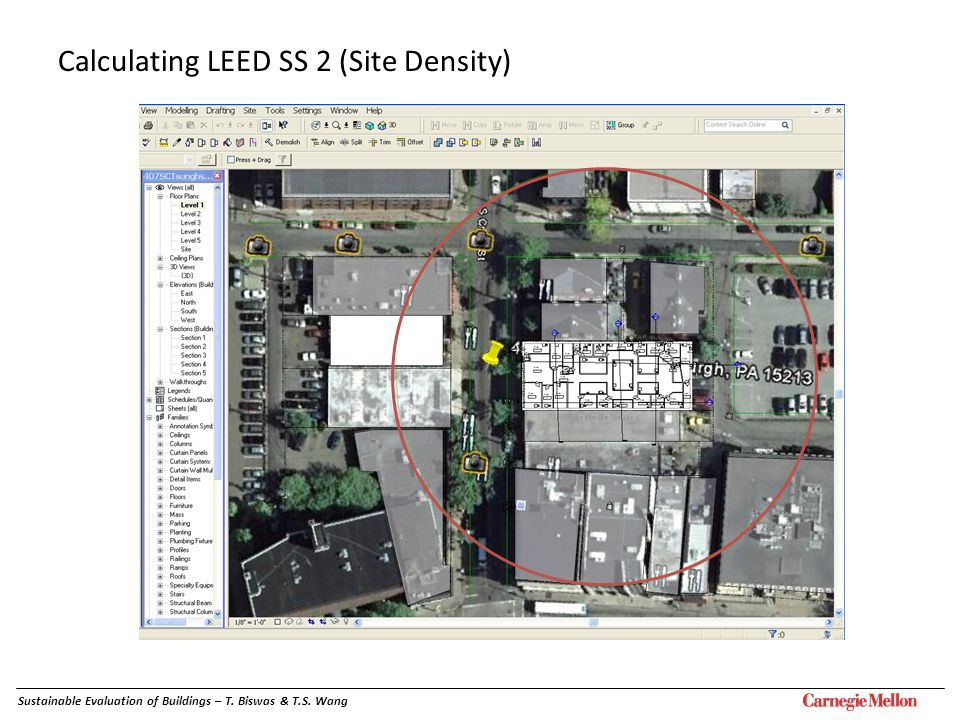 Calculating LEED SS 2 (Site Density)