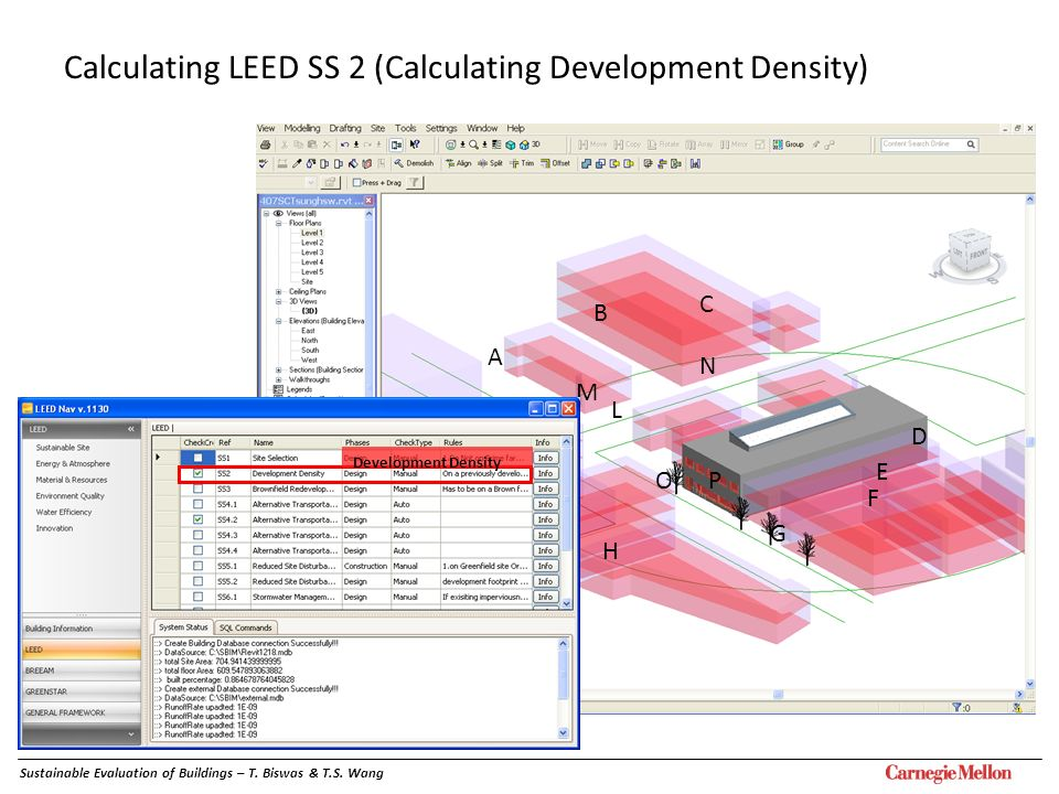Calculating LEED SS 2 (Calculating Development Density)