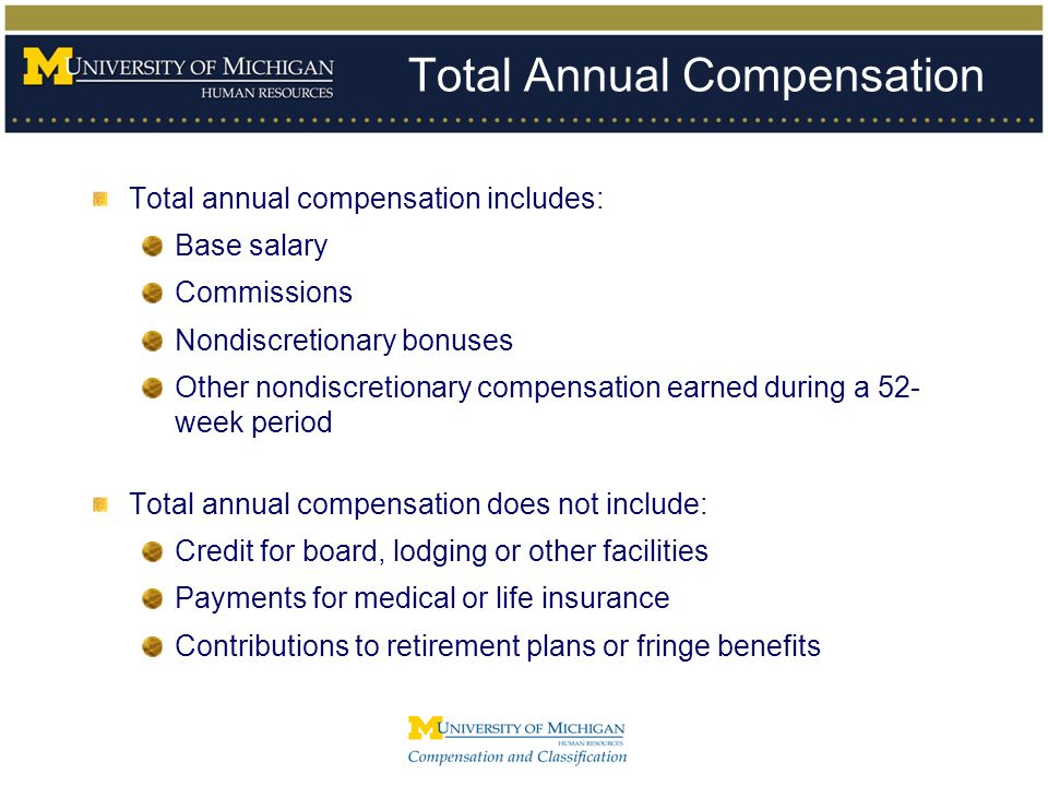 Total Annual Compensation