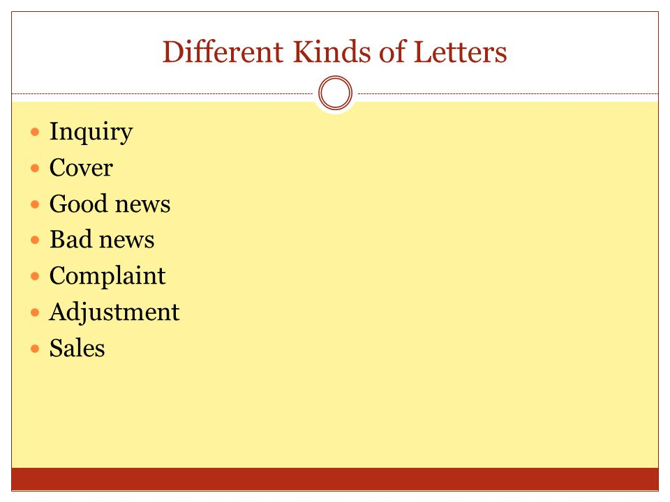 different kinds of letter best of different kinds of letter cover letter examples 28837