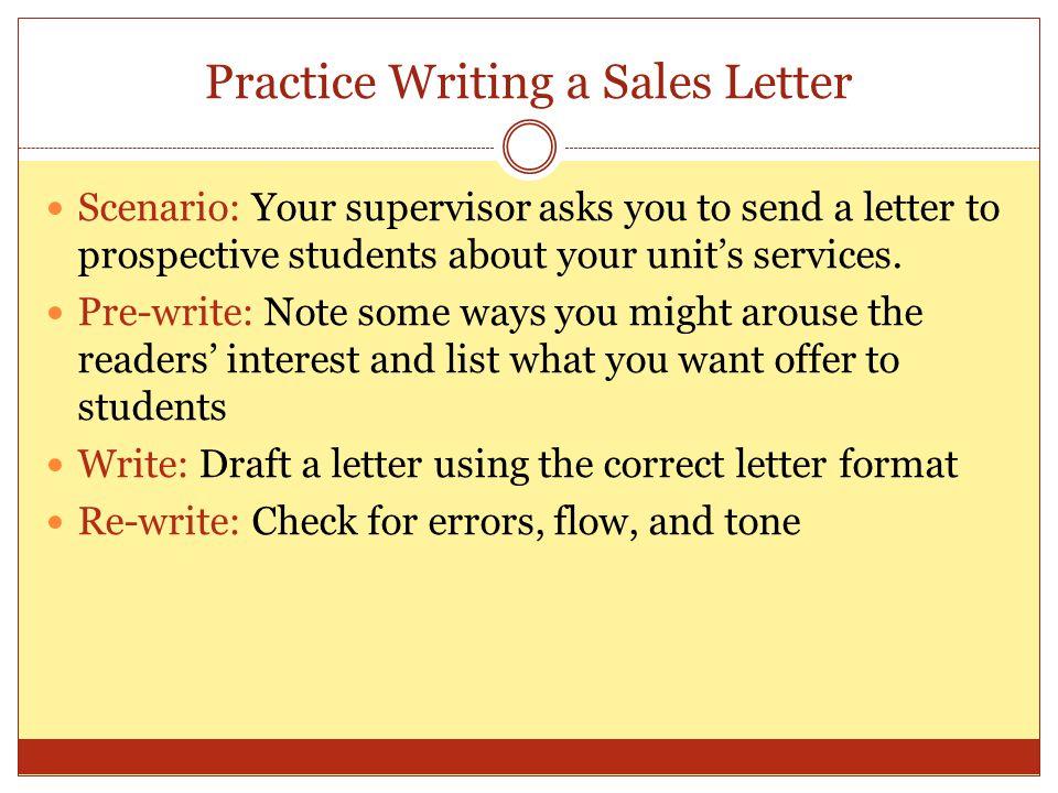 Written Correspondence Ppt Download