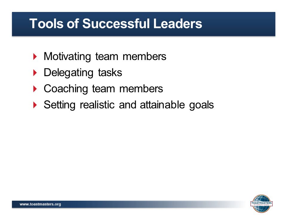 Tools of Successful Leaders