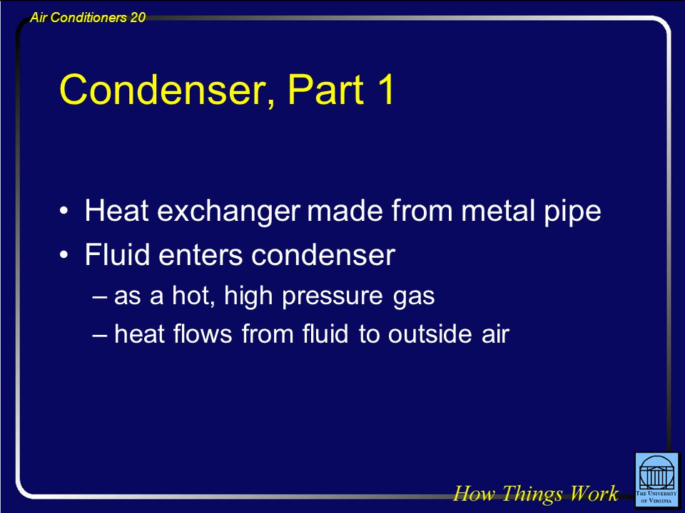 Condenser, Part 1 Heat exchanger made from metal pipe