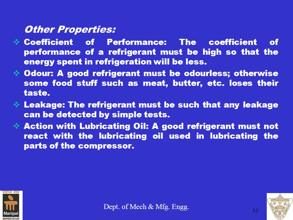Other Properties: