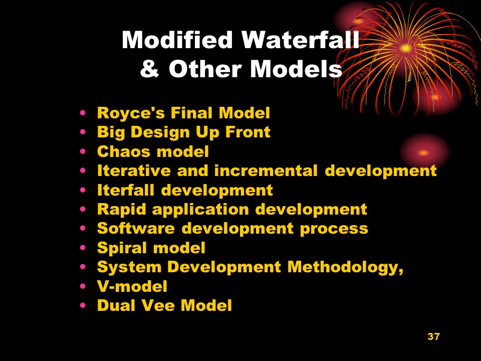 Modified Waterfall & Other Models