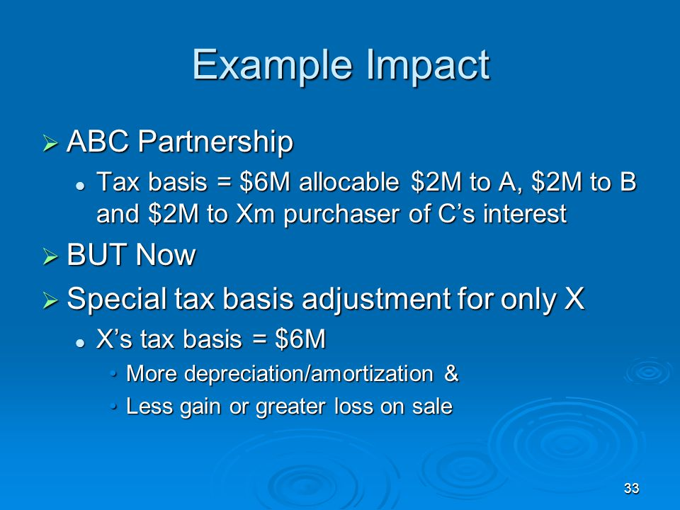 Example Impact ABC Partnership BUT Now