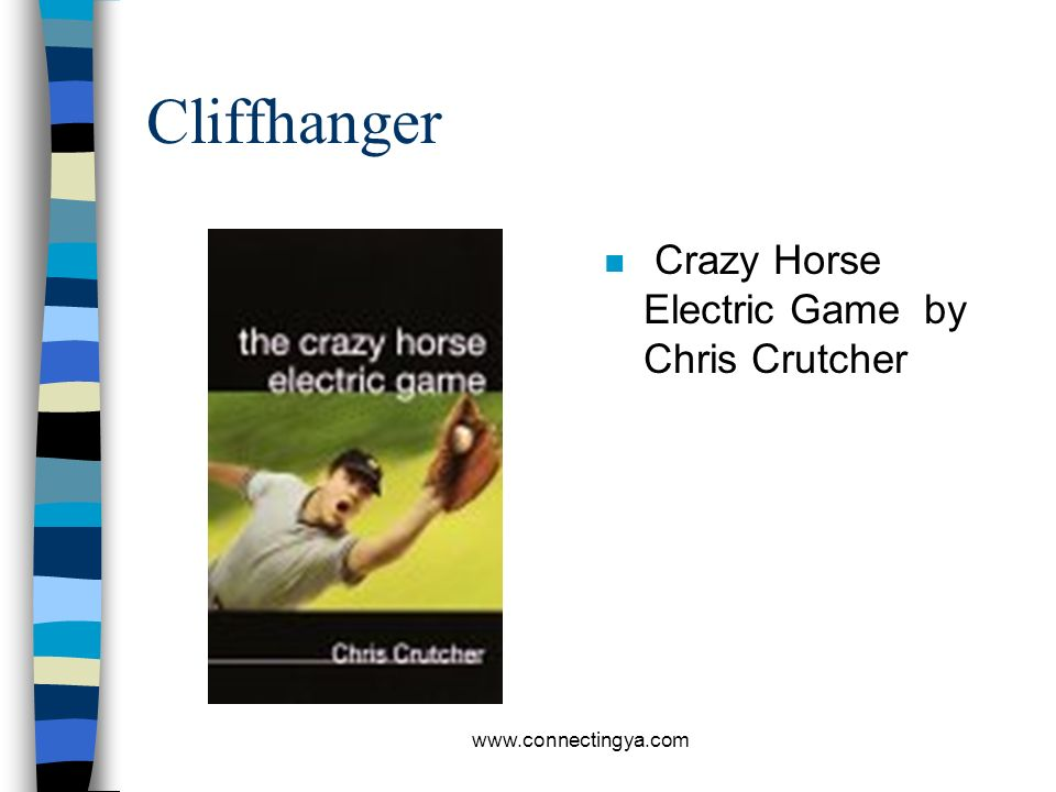 Cliffhanger Crazy Horse Electric Game by Chris Crutcher