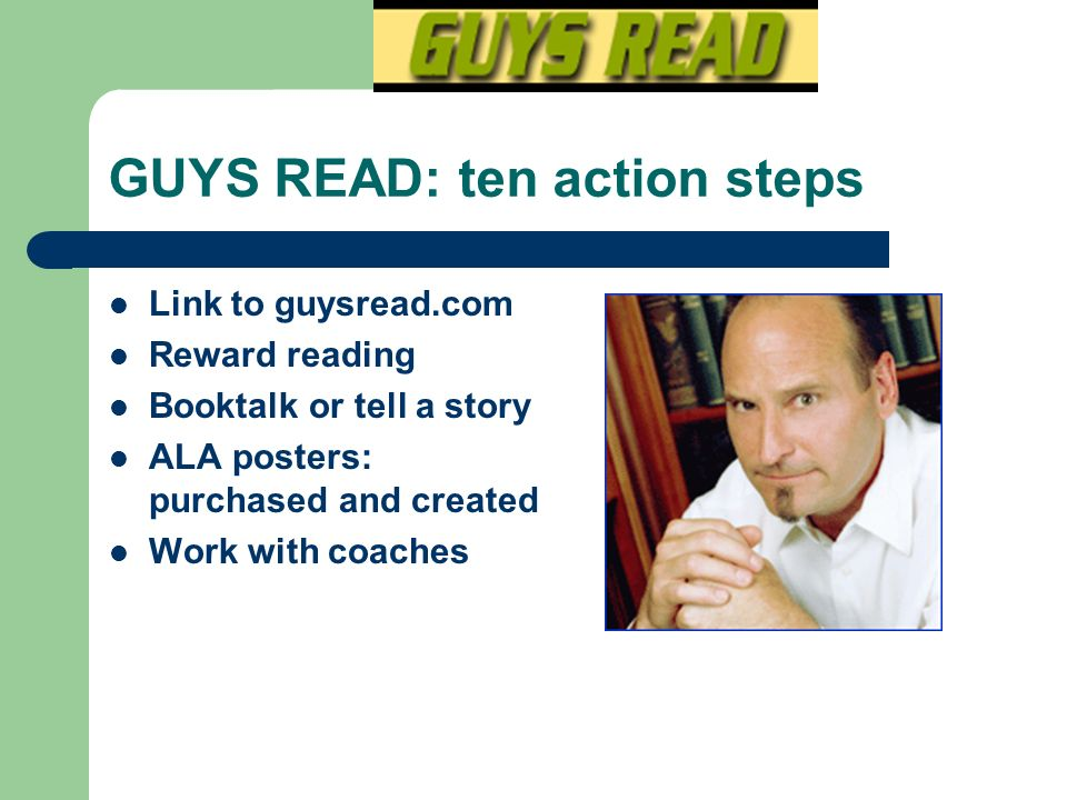 GUYS READ: ten action steps