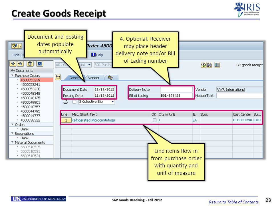 SAP Goods Receiving Goods Receiver MM_REC_ ppt video online