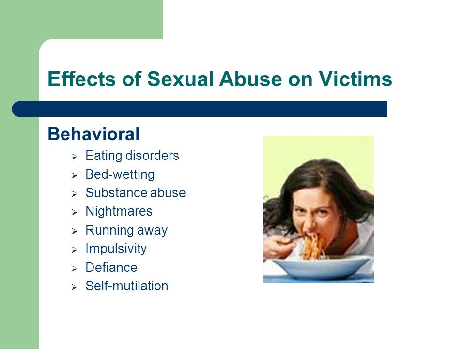 Effects of Sexual Abuse on Victims