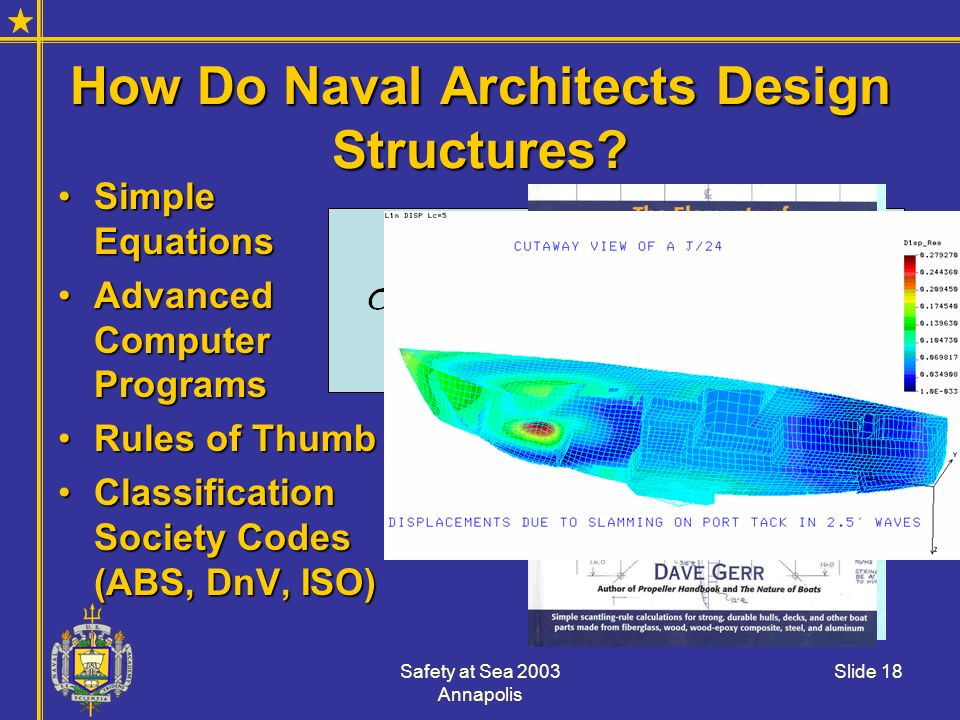 How Do Naval Architects Design Structures