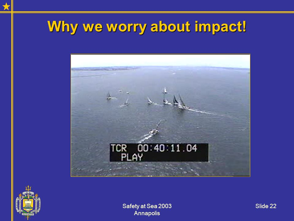 Why we worry about impact!