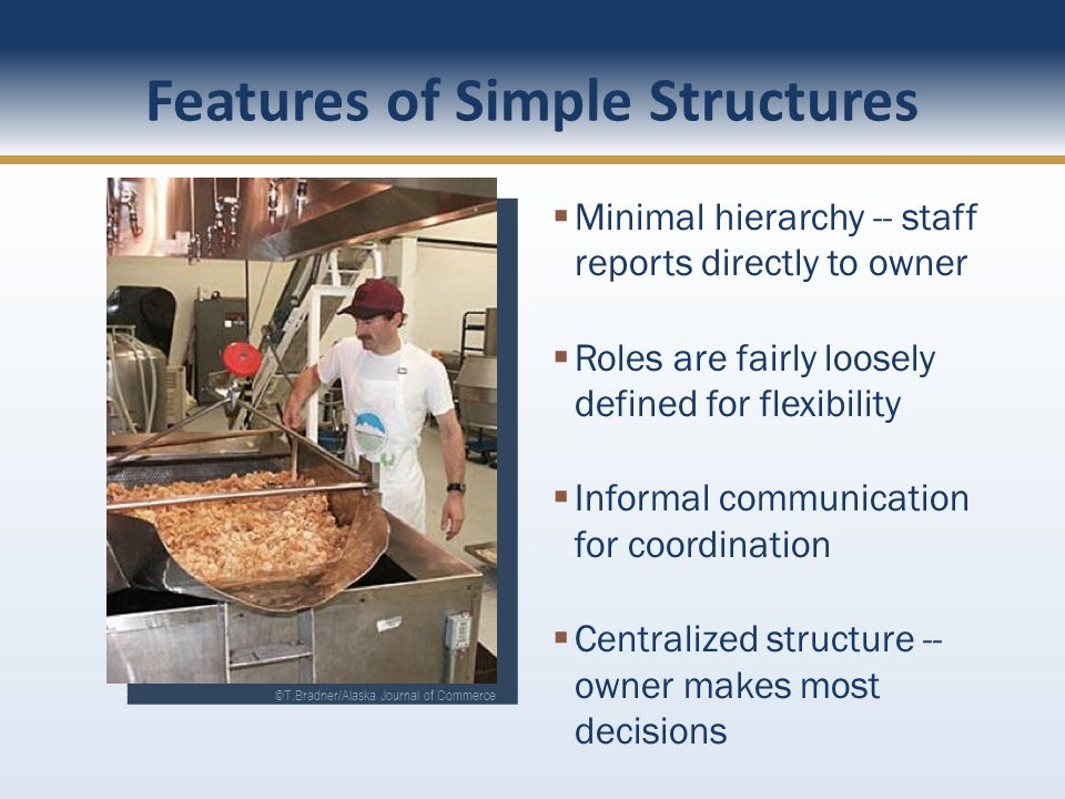 Features of Simple Structures