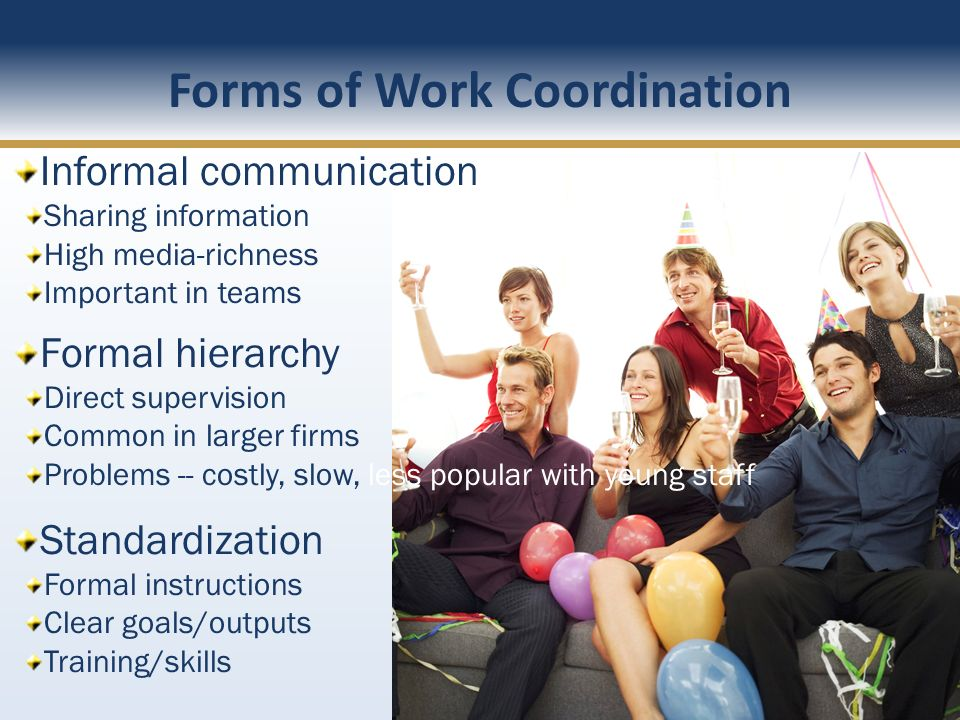 Forms of Work Coordination