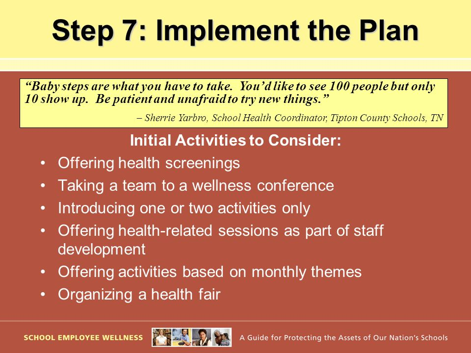 Step 7: Implement the Plan