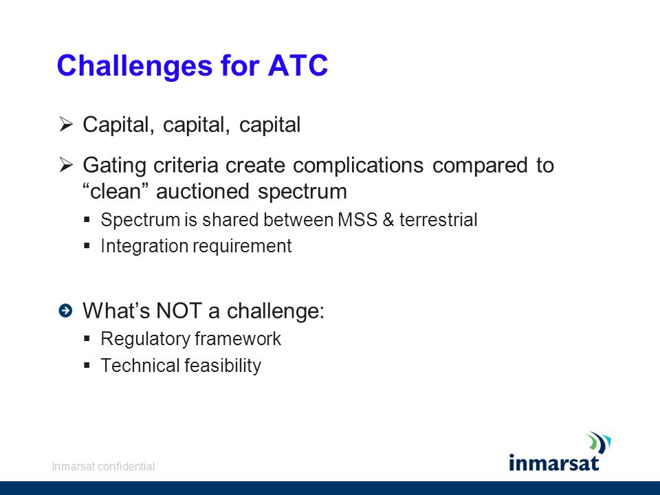 Challenges for ATC Capital, capital, capital