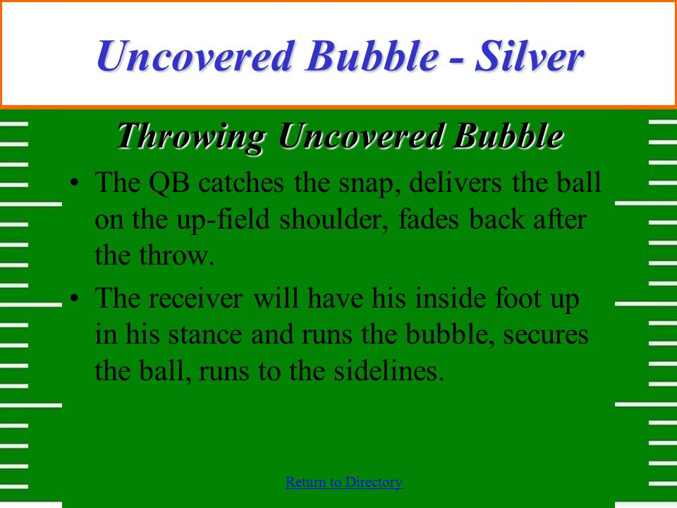 Uncovered Bubble - Silver
