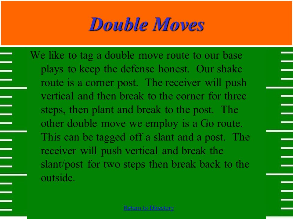Double Moves