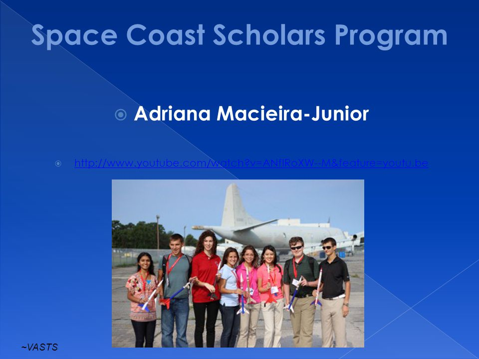 Space Coast Scholars Program