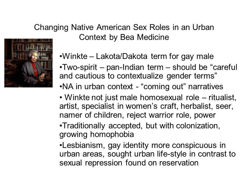 Changing Native American Sex Roles in an Urban Context by Bea Medicine